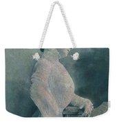 A Lady Ponders Weekender Tote Bag
