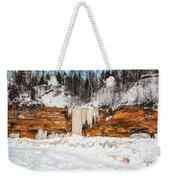 A Land Of Snow And Ice Weekender Tote Bag