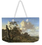 A Landscape With A Dead Tree Weekender Tote Bag