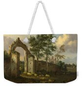 A Landscape With A Ruined Archway Weekender Tote Bag