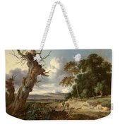 A Landscape With Two Dead Trees Weekender Tote Bag
