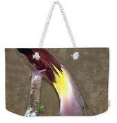 A Large Bird Of Paradise Weekender Tote Bag