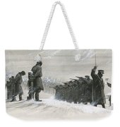 A Last Minute Reprieve Saved Fyodor Dostoievski From The Firing Squad Weekender Tote Bag