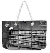 A Lawyer In His Library Weekender Tote Bag