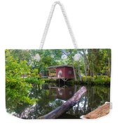 A Lazy River Day Weekender Tote Bag