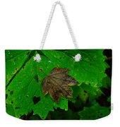 A Leaf Upon A Leaf Weekender Tote Bag