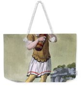 A Lictor, Bearer Of The Fasces Weekender Tote Bag