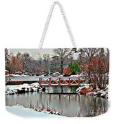 A Light Dusting Of Snow Weekender Tote Bag