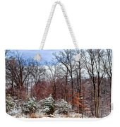 A Light Dusting Weekender Tote Bag