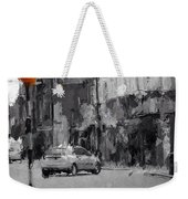 A Light On A Grey Day Weekender Tote Bag