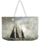 A Light Through The Storm - Sailing Weekender Tote Bag