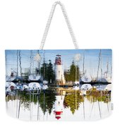 A Lighthouse Weekender Tote Bag
