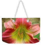 A Lily A Day Weekender Tote Bag