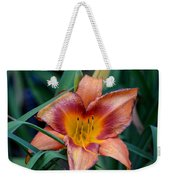 A Lily's Golden Heart Weekender Tote Bag