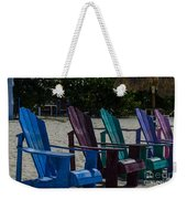 A Line Up Of A Different Color Weekender Tote Bag