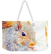A Little Bit Squirrely Weekender Tote Bag
