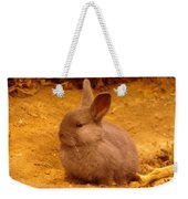 A Little Bunny Weekender Tote Bag