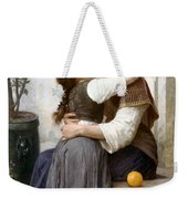 A Little Coaxing Weekender Tote Bag