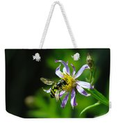 A Little Nectar Seeking Fruit Fly Weekender Tote Bag
