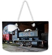 A Locomotive At The Colliery Weekender Tote Bag