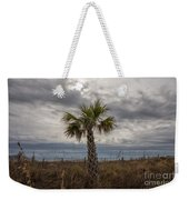 A Lonely Palm Tree Weekender Tote Bag