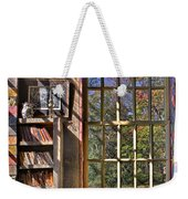 A Look From The Library Weekender Tote Bag by Susan Candelario
