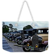 A Lot Of Classic Cars Weekender Tote Bag