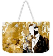 A Love For Sax Weekender Tote Bag