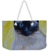 A Loving Siamese Weekender Tote Bag
