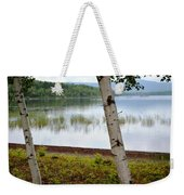 A Maine White Birch Pairing Weekender Tote Bag