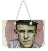 A Man Who Used To Be A Player Weekender Tote Bag by James W Johnson