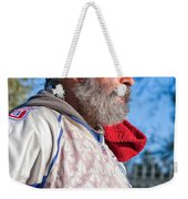 A Man With A Purpose Weekender Tote Bag
