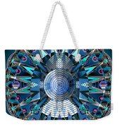 A Mandala Abstract Weekender Tote Bag