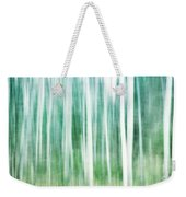 A Matter Of Blues Weekender Tote Bag by Priska Wettstein