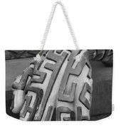 A Maze Ing Hand Black And White Weekender Tote Bag