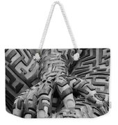 A Maze Ing Man 4 Black And White Weekender Tote Bag