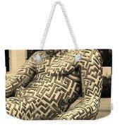 A Maze Ing Man 5 Sepia Weekender Tote Bag
