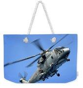 A Merlin Helicopter Weekender Tote Bag