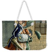 A Merry Christmas And Happy New Year Weekender Tote Bag