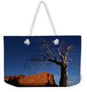A Mesquite Trees And Buttes Weekender Tote Bag