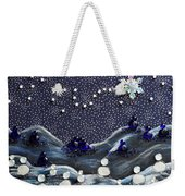 A Midnight Clear Weekender Tote Bag