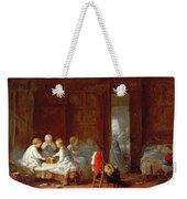 A Midnight Feast, 1866 Weekender Tote Bag by Frederick Daniel Hardy