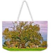 A Mighty Oak - Paint Weekender Tote Bag