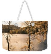A Moment Of Gold Weekender Tote Bag
