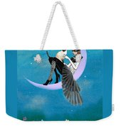 A Moon Cat  Weekender Tote Bag