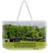 A Mother's Prayer Weekender Tote Bag
