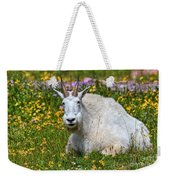A Mouthful Of Flowers Weekender Tote Bag