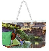 A Multi-generational Family Of Boaters Weekender Tote Bag