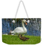 A Mute And Mallards Weekender Tote Bag