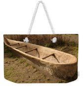 A Native American Fishing Boat Weekender Tote Bag